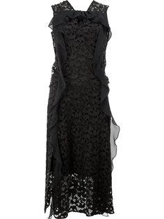 кружевное платье без рукавов Carven