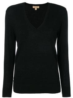 свитер с V-образным вырезом Burberry