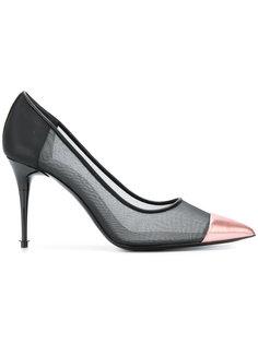 прозрачные туфли с заостренным носком Tom Ford