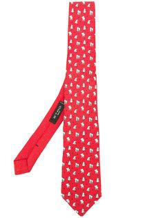 галстук со слонами Etro
