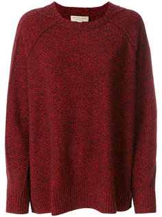 вязаный свитер с круглым вырезом Burberry