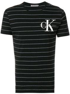 полосатая футболка с логотипом Ck Jeans