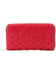 удлиненный стеганый кошелек Dolce & Gabbana