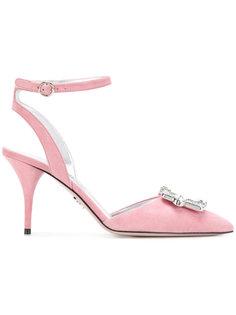 туфли с кристаллами  Prada