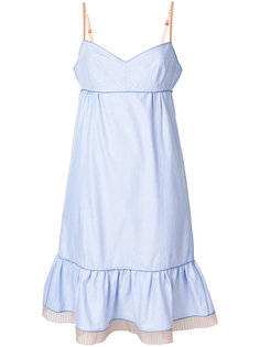 платье с рюшами Marc Jacobs