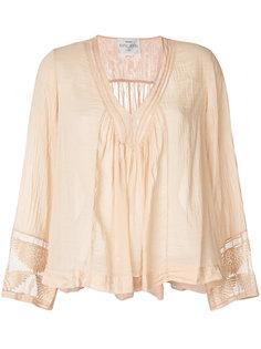 блузка с эффектом помятости Forte Forte