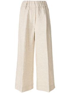 расклешенные брюки с вышивкой Forte Forte