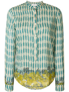 приталенная рубашка с вышивкой Forte Forte