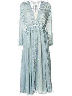 расклешенное платье миди Forte Forte