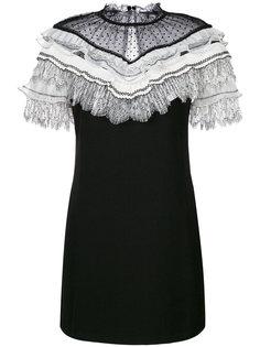 мини-платье с плиссировкой Self-Portrait