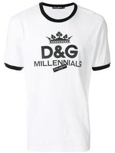 футболка с принтом Millennials Dolce & Gabbana
