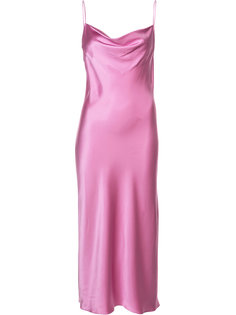 платье-сорочка с воротником-хомут  Fleur Du Mal