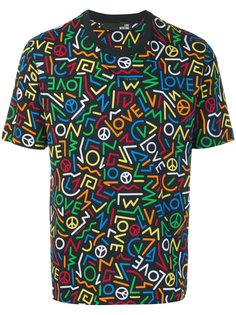 футболка с графическим логотипом Love Moschino