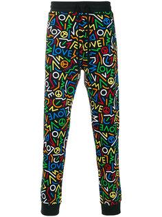 спортивные брюки с оготипом  Love Moschino