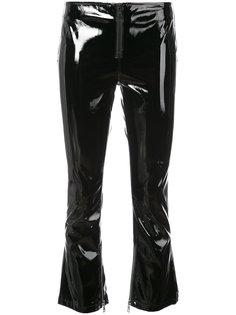 укороченные виниловые брюки Luella Rta