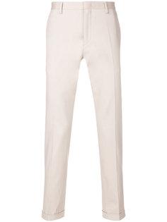 брюки-чинос с подвернутыми краями Paul Smith