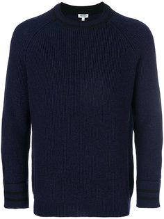 трикотажный свитер в рубчик Kenzo
