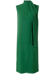 платье с завязкой на воротнике Joseph