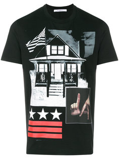 футболка Cuban-fit L.A. Givenchy