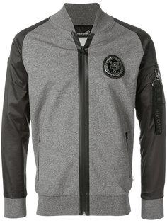 куртка-бомбер с заплаткой Russell Plein Sport