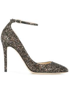 туфли с блестящей отделкой Lucy 100 Jimmy Choo