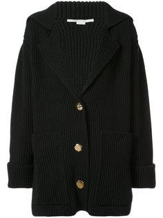 пальто-кардиган в рубчик  Stella McCartney