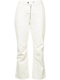 укороченные брюки клеш  Nomia
