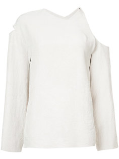 блузка с открытыми плечами  Nomia