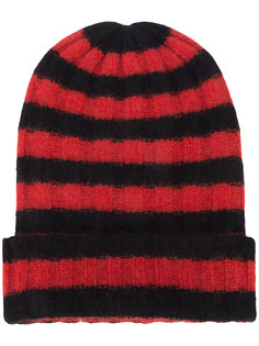 кашемировая полосатая шапка The Elder Statesman