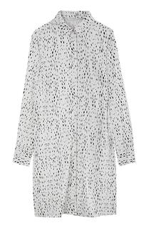 удлиненная блузка с принтом Tom Tailor