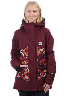 Куртка утепленная женская Billabong Jara Mystic Maroon