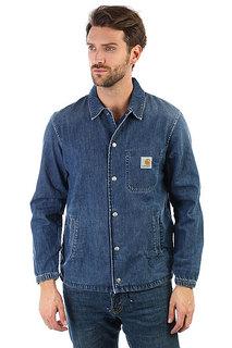 Рубашка Carhartt WIP Denim Coach Jacket Blue True Stone