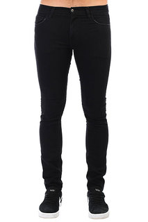 Джинсы прямые Carhartt WIP Rebel Pant Black Stone Washed
