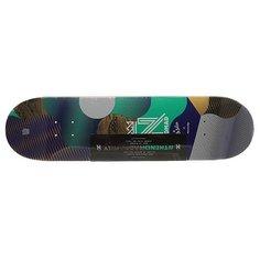 Дека для скейтборда для скейтборда Nomad Resilio Blue Deck Multicolor 32.375 x 8.375 (21.3 см)