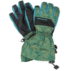 Перчатки сноубордические детские Dakine Yukon Glove Broken Stripe