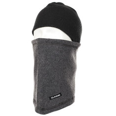 Шапка носок Dakine Fleece Neck Tube Charcoal