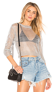 Mila metallic crop top - by the way.