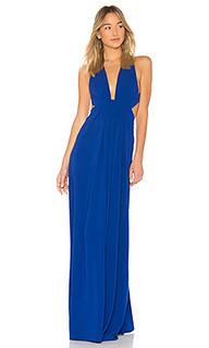 Вечернее платье v neck - JILL JILL STUART