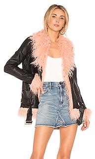 Куртка из искусственного меха fiona - MAJORELLE