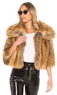 Пальто из искусственного меха garbo - NILI LOTAN