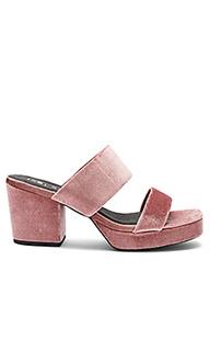 Туфли на каблуке с вельветовым верхом tina - Sol Sana