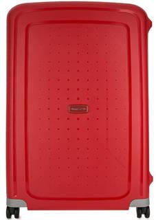 Пластиковый чемодан на защелках Samsonite