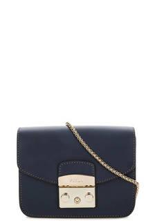 Маленькая синяя сумка через плечо Furla