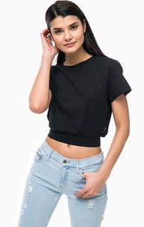 Укороченная футболка с вырезом на спине Cheap Monday