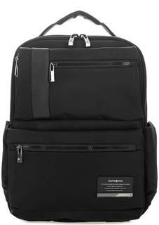 Черный текстильный рюкзак с двумя отделами Samsonite