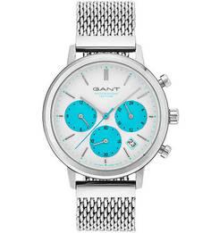 Кварцевые часы круглой формы с хронографом Gant