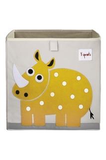 Коробка для хранения «Носорог» 3 Sprouts