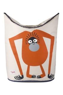 Корзина для белья «Орангутанг» 3 Sprouts