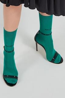 Зеленые носки с логотипом Balenciaga