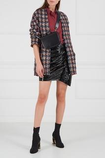 Кожаная мини-юбка Isabel Marant